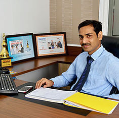 Mr. Arvind Singh, Joint Director of Made Easy Group of which Made Easy School Gurgaon is part of
