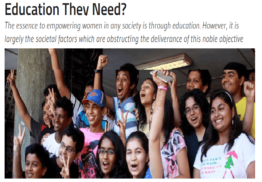 Why Girls In India Are Missing Out On Education They Need - Nitu Channan - BW Businessworld