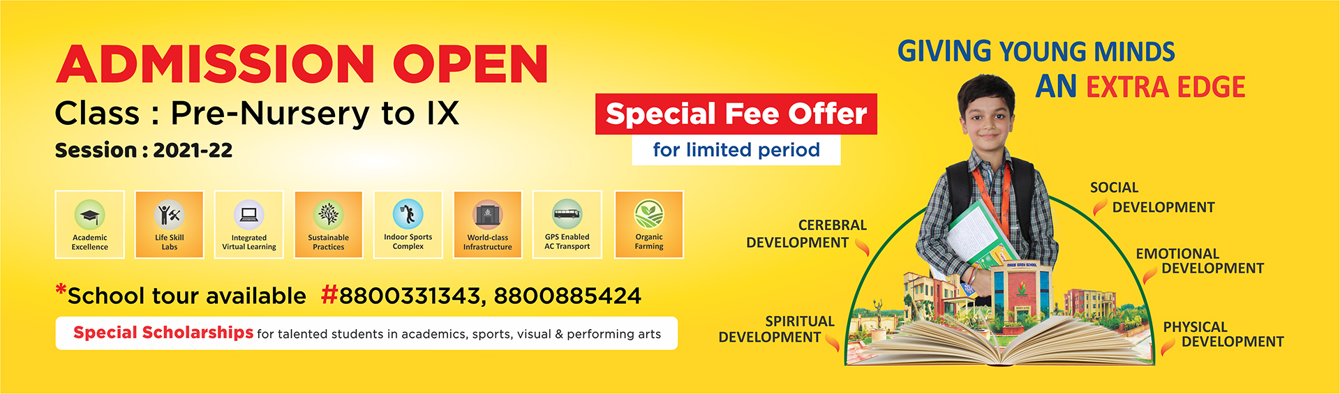 MADE EASY SCHOOL Admission Open for Pre-Nursery to IX