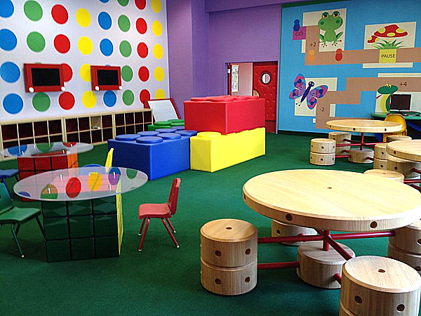 Fun Playhouse for young kids in Made Easy School Gurgaon