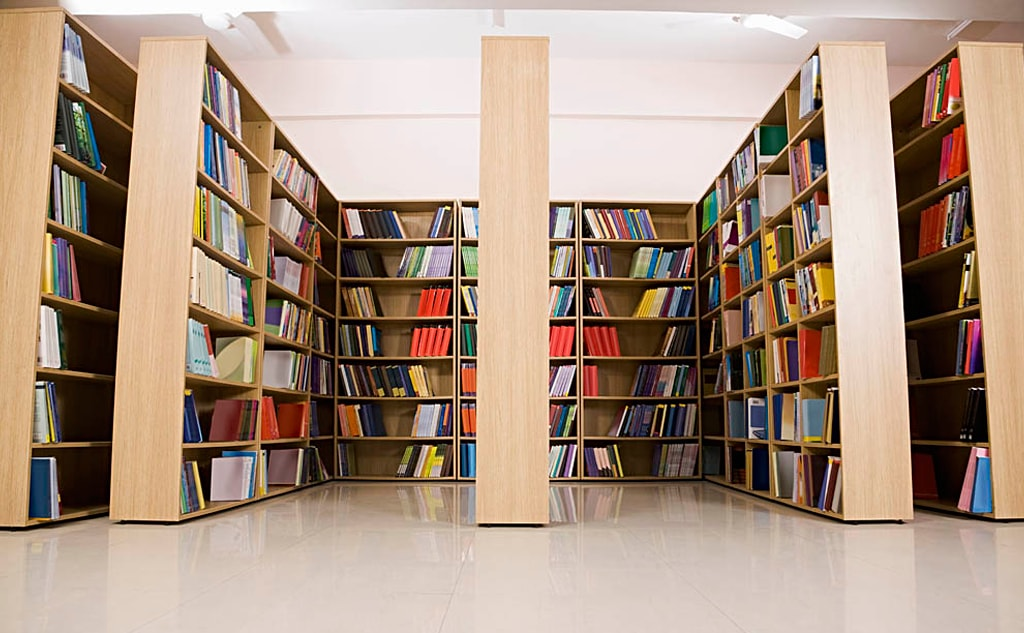 Library of Made Easy School Gurgaon