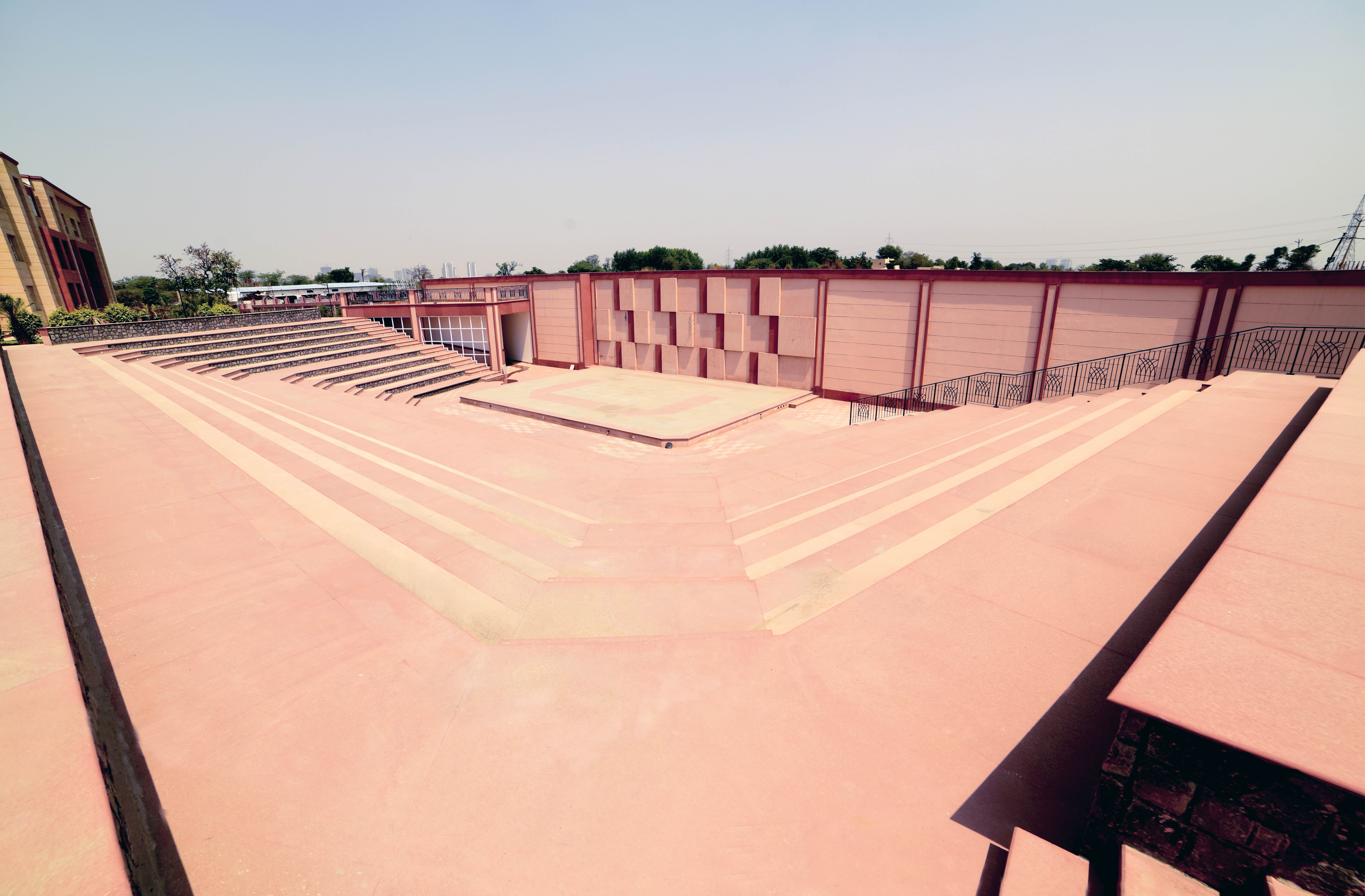 Open Amphitheatre of Made Easy school in Gurgaon