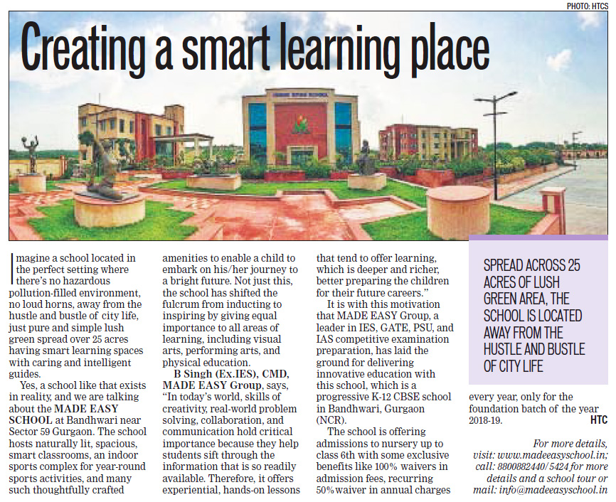 Creating a Smart Learning Place